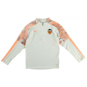 Valencia CF 1/4 Zip Training Top - White - Kids