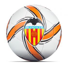 Valencia CF Future Flare Mini Ball - White