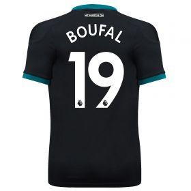 Southampton Away Shirt 2017-18 - Kids with Boufal 19 printing