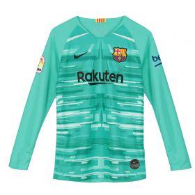Barcelona Goalkeeper Stadium Shirt - Long Sleeve - Kids