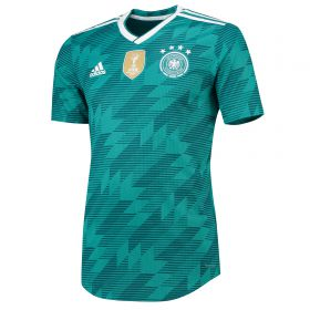 Germany Authentic Away Shirt 2018 with Halstenberg 3 printing