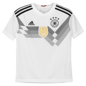 Germany Home Shirt 2018 - Kids with Halstenberg 3 printing