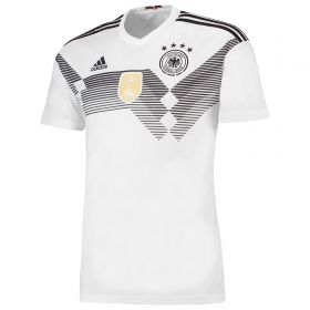 Germany Home Shirt 2018 with Halstenberg 3 printing