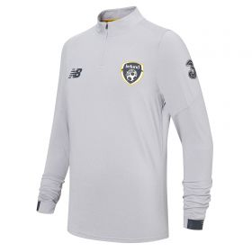Republic of Ireland On-Pitch Midlayer Training Top - Grey