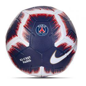 Paris Saint-Germain Strike Football - Navy - Size 5