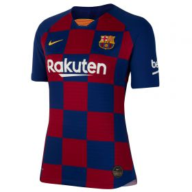 Barcelona Home Vapor Match Shirt 2019-20 - Womens with Vidal 22 printing