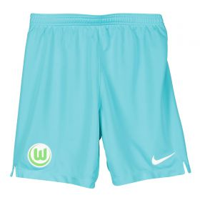 VfL Wolfsburg Away Stadium Shorts 2019-20 - Kids