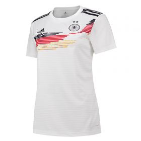 Germany Home Shirt 2019 - Womens with Schweers 17 printing