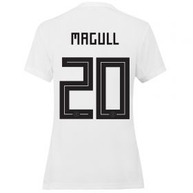 Germany Home Shirt 2019 - Womens with Magull 20 printing