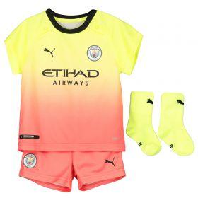Manchester City Third Baby Kit 2019-20 with Kun Agüero 10 printing