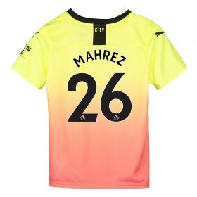 Manchester City Third Shirt 2019-20 - Kids with Mahrez 26 printing