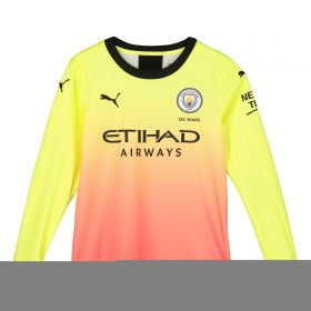 Manchester City Third Shirt 2019-20 - Long Sleeve - Kids with Mendy 22 printing