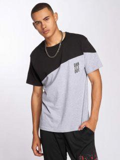 Мъжка тениска Dangerous DNGRS / T-Shirt Dangerscript in grey