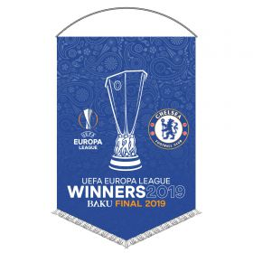 Chelsea UEFA Europa League Winners 2019 Pennant