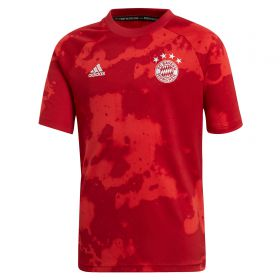 FC Bayern Pre- Match Shirt - Red - Kids