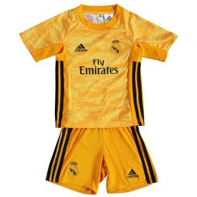 Real Madrid Home GK Mini Kit 2019 - 20