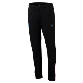 Aston Villa Coaches Pants w/ Zip Pockets - Black