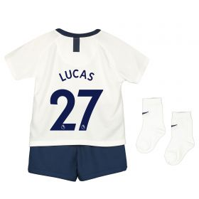 Tottenham Hotspur Home Stadium Kit 2019-20 - Infants with Lucas 27 printing