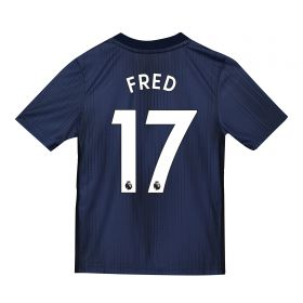 Manchester United Third Shirt 2018-19 - Kids with Fred 17 printing