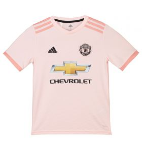 Manchester United Away Shirt 2018-19 - Kids with Marcos Rojo 16 printing