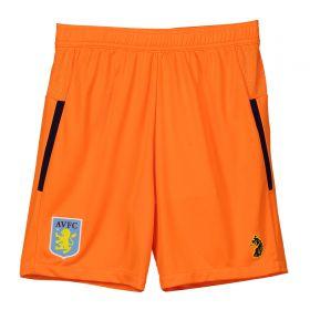 Aston Villa Third Goalkeeper Shorts 2018-19 - Kids