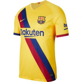 Barcelona Away Stadium Shirt 2019-20