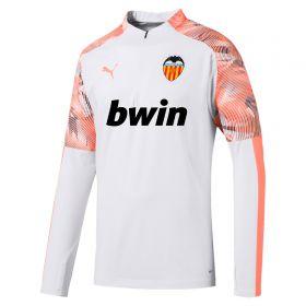 Valencia CF 1/4 Zip Training Top - White