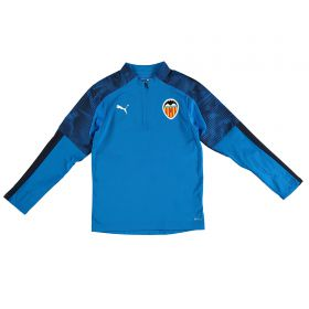 Valencia CF 1/4 Zip Training Top - Blue - Kids