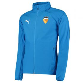 Valencia CF Training Rain Jacket - Blue