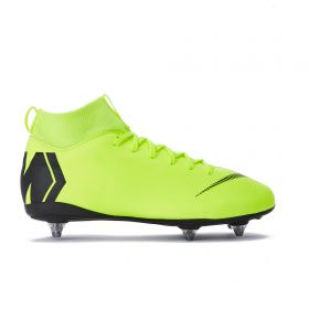 Nike Mercurial Superfly 6 Academy Soft Ground Pro Football Boots - Yellow - Kids