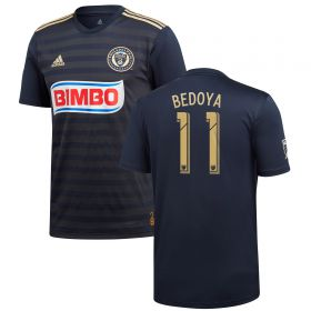 Philadelphia Union Home Shirt 2018 with Bedoya 11 printing