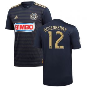Philadelphia Union Home Shirt 2018 with Rosenberry 12 printing