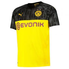 BVB Cup Home Shirt 2019-20 with Akanji 16 printing