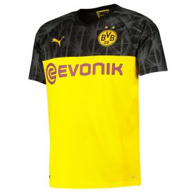 BVB Cup Home Shirt 2019-20 with Wolf 27 printing