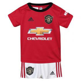 Manchester United Home Baby Kit 2019 - 20 with Marcos Rojo 16 printing