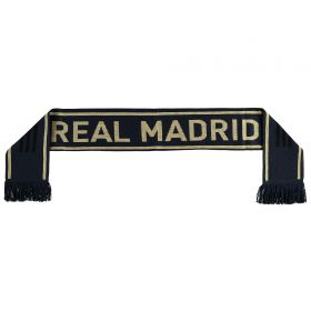 Real Madrid Fans Away Scarf - Navy