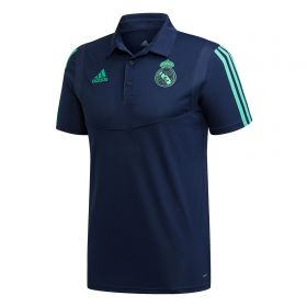 Real Madrid UCL Training Polo - Navy