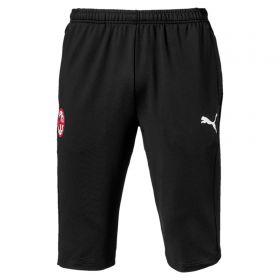 AC Milan 3/4 Training Pants - Black