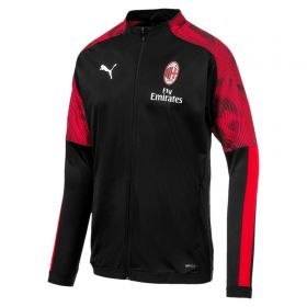 AC Milan Training Track Jacket - Black