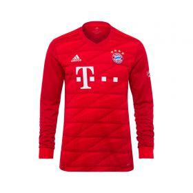 FC Bayern Home Long Sleeve Shirt 2019-20 - Kids