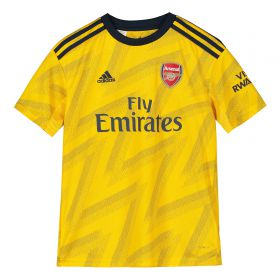 Arsenal Away Shirt 2019-20 - Kids with Aubameyang 14 printing