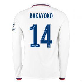 Chelsea Away Cup Stadium Shirt 2019-20 - Long Sleeve with Bakayoko 14 printing