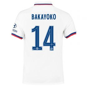 Chelsea Away Cup Stadium Shirt 2019-20 with Bakayoko 14 printing