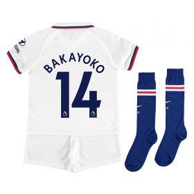 Chelsea Away Stadium Kit 2019-20 - Little Kids with Bakayoko 14 printing