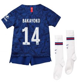 Chelsea Home Cup Stadium Kit 2019-20 - Little Kids with Bakayoko 14 printing