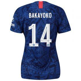 Chelsea Home Cup Stadium Shirt 2019-20 - Womens with Bakayoko 14 printing