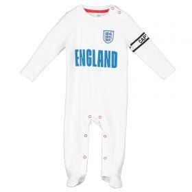 England Kit Sleepsuit - White