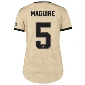 Manchester United Cup Away Shirt 2019 - 20 - Womens with Maguire 5 printing