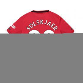 Manchester United Home Shirt 2019 - 20 - Kids with Solskjaer 20 printing