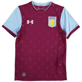 Aston Villa Home Shirt 2017-18 - Kids with McCormack 44 printing